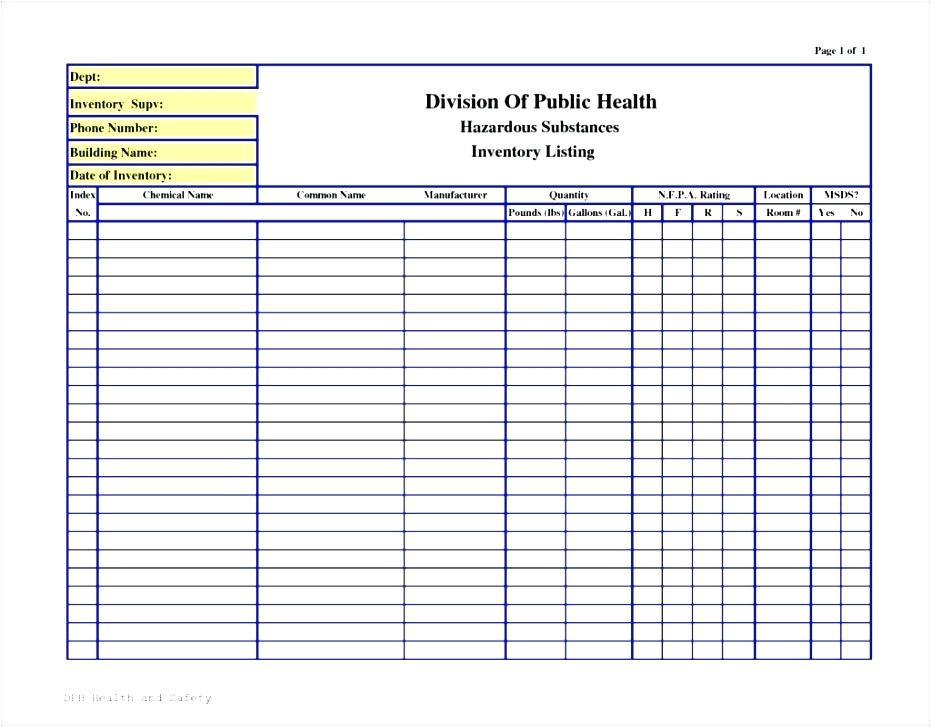 chemical inventory template excel types of instruction chemical inventory system hazardous substances register