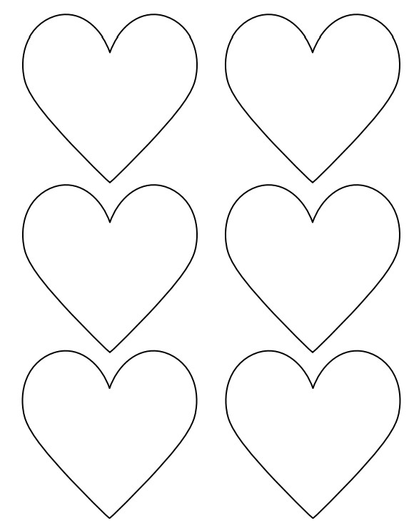 Heart Template for Printing 14 Printable Heart Templates to Download for Free Sample