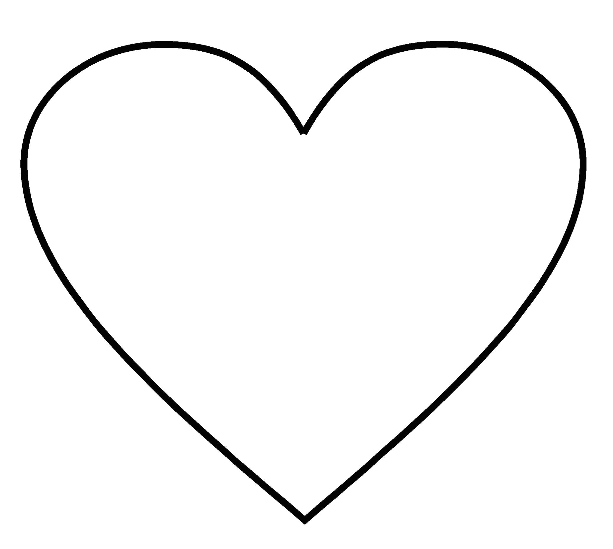 post printable 2 inch heart stencil 273716