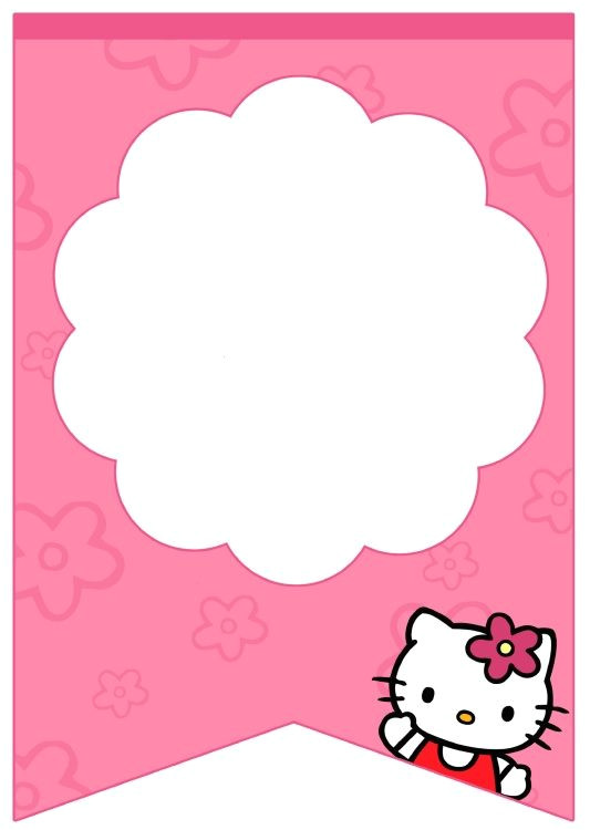 Hello Kitty Birthday Banner Template Free Best 25 Blank Banner Ideas Only On Pinterest Free