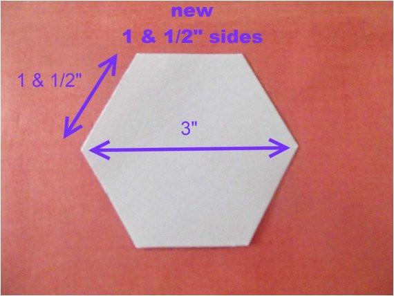 50 flexible plastic quilting hexagon