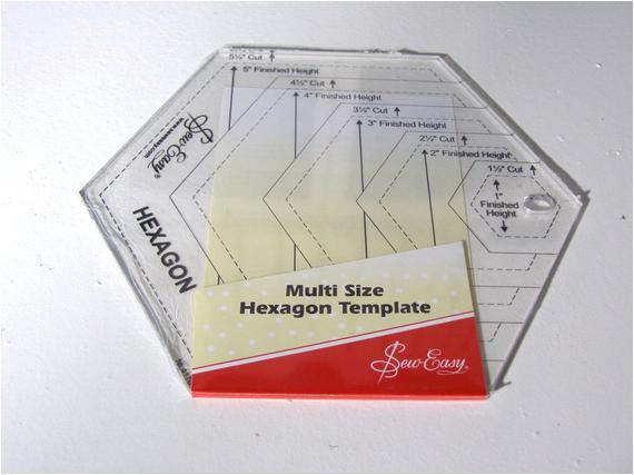 hexagon template hexagon ruler quilting