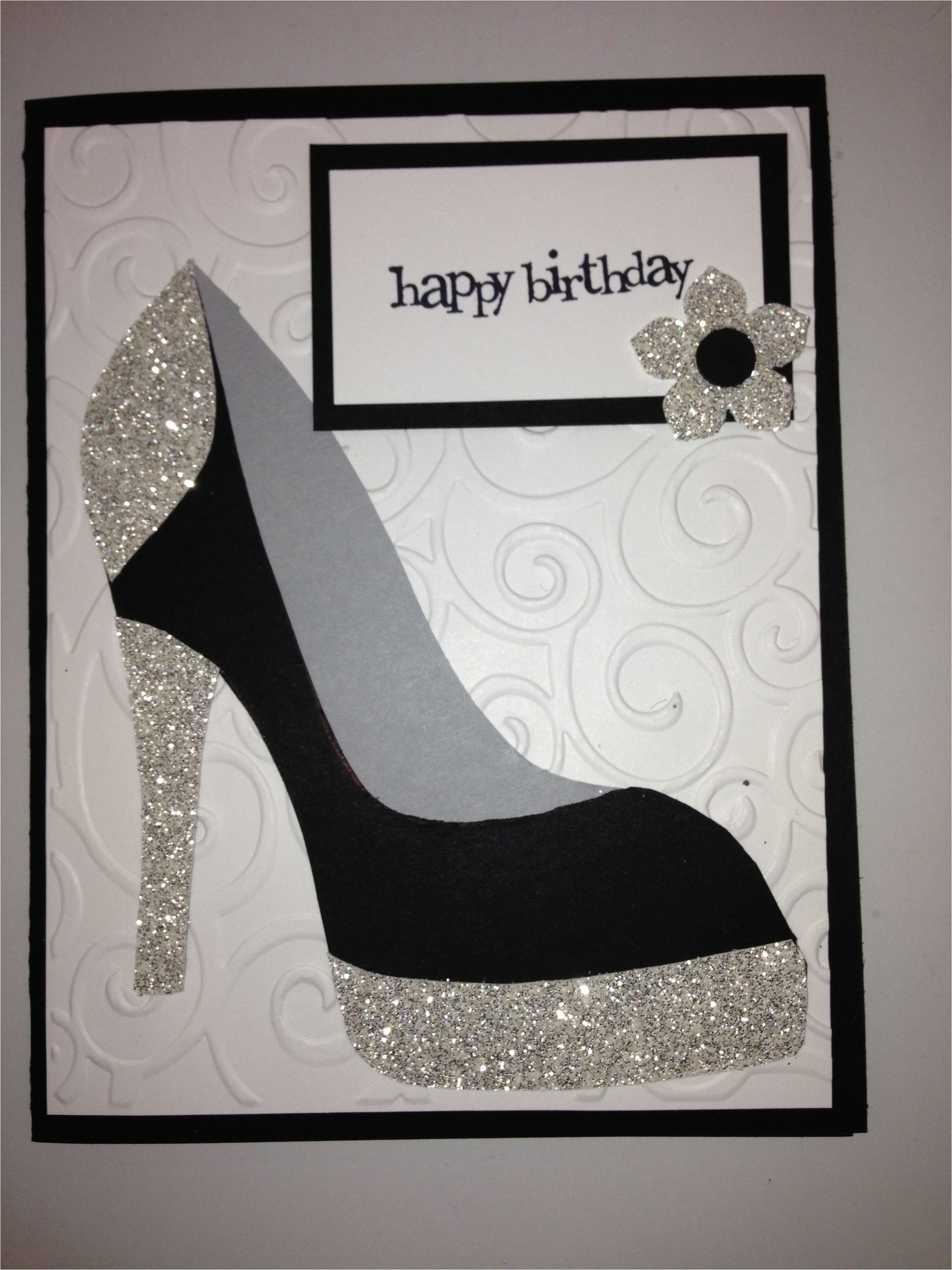 High Heel Template for Cards High Heel Shoe Card Birthday Tanya Bell 39 S High Heel Shoe