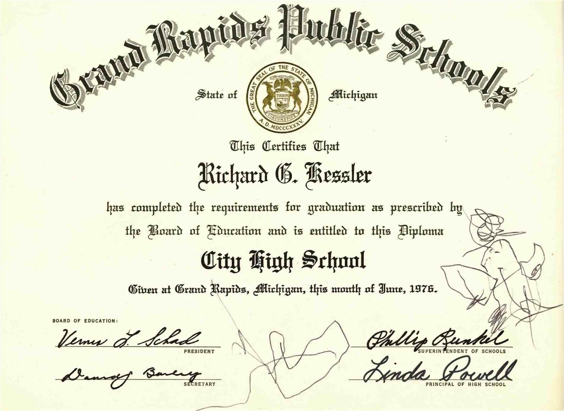 free printable high school diploma templates high school diploma certificate fancy design templates