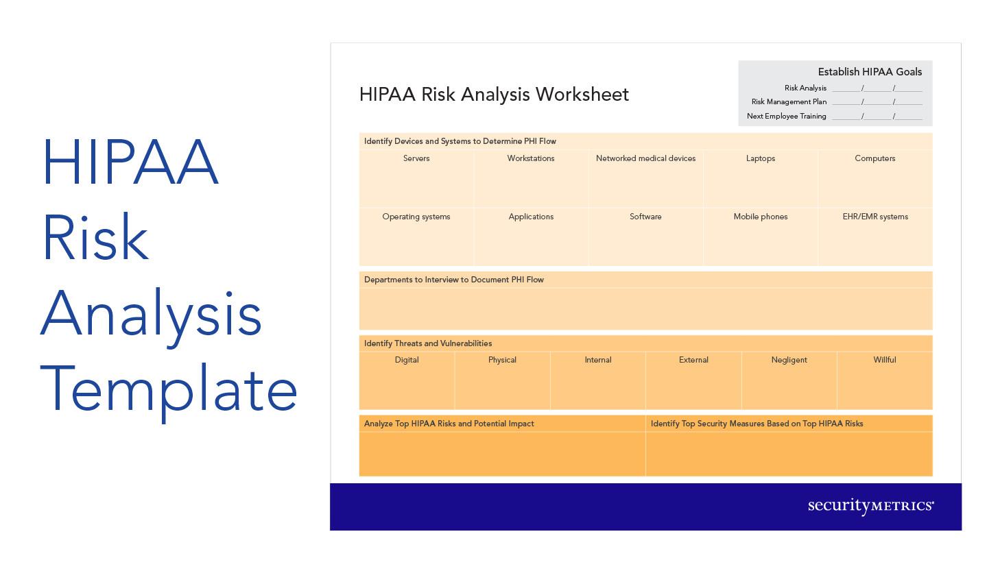 Hipaa Risk Analysis Template How to Start A Hipaa Risk Analysis
