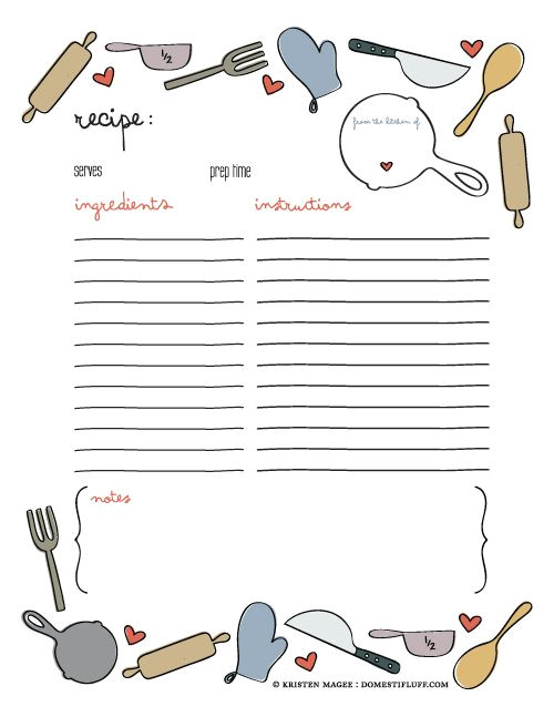 Homemade Cookbooks Template Best 25 Recipe Templates Ideas On Pinterest Recipe