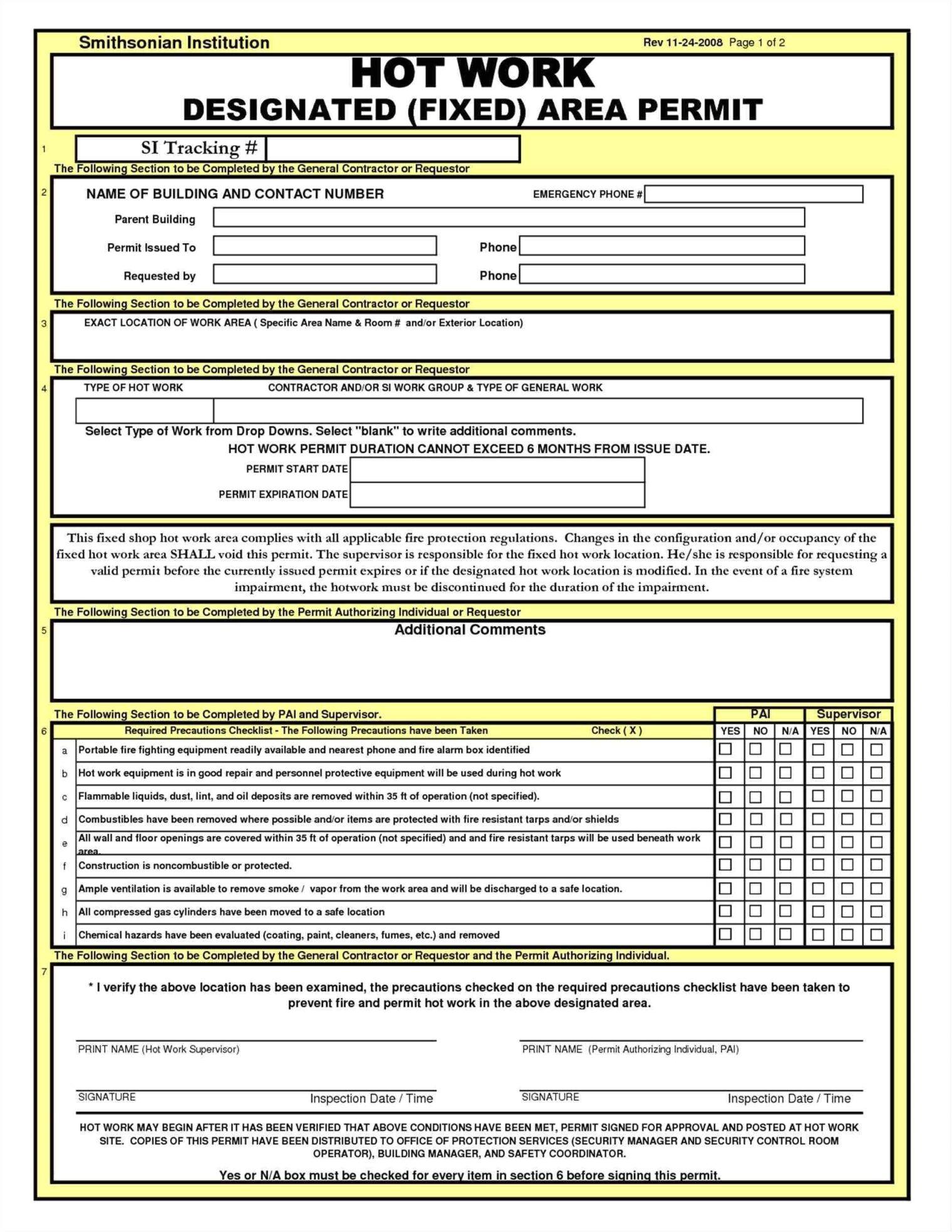 hot work permit example4