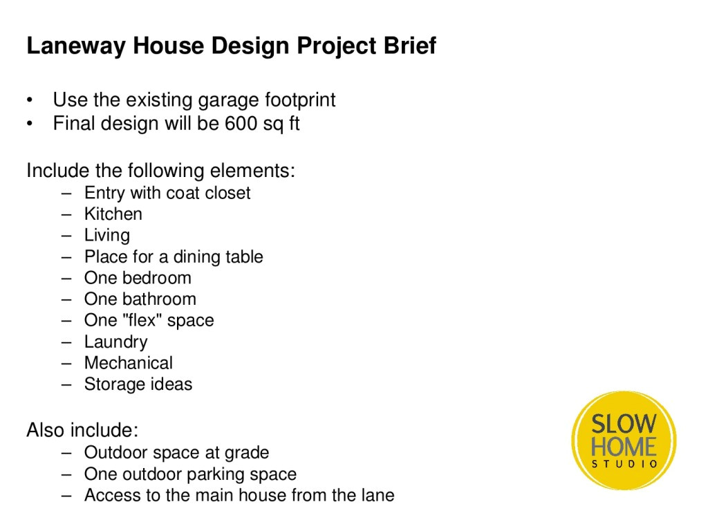 laneway house garage remodel