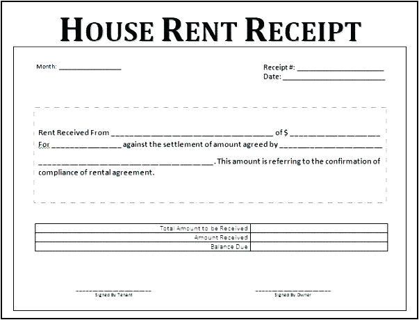 house rent receipt template printable cash receipt template free receipt template doc for house rent bill house rent receipt template uk