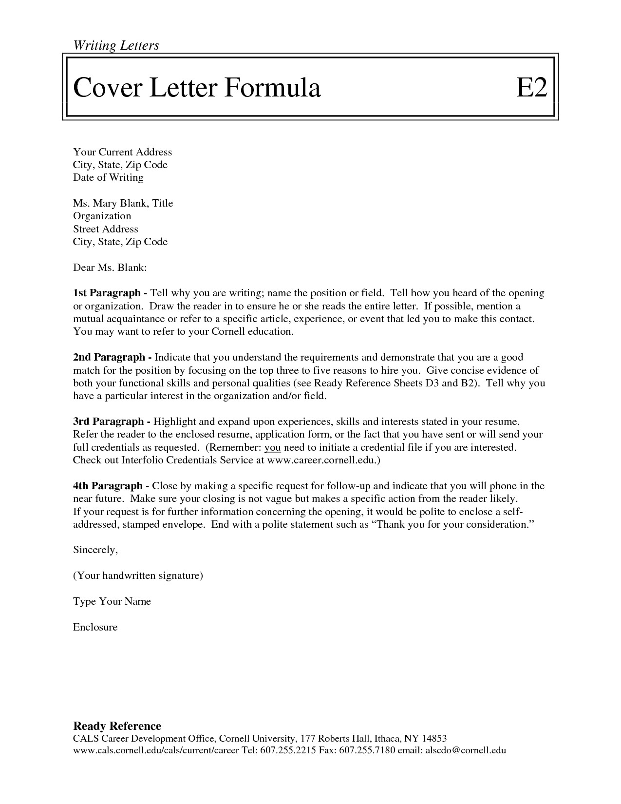 addressing a professional letter