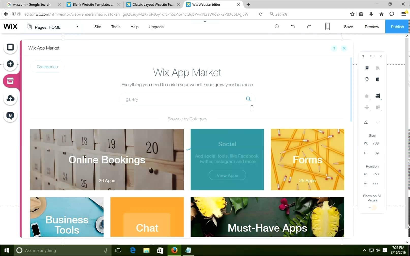 how to change wix templete youtube with regard to wix change template