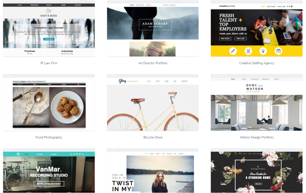 wix templates x wix change template