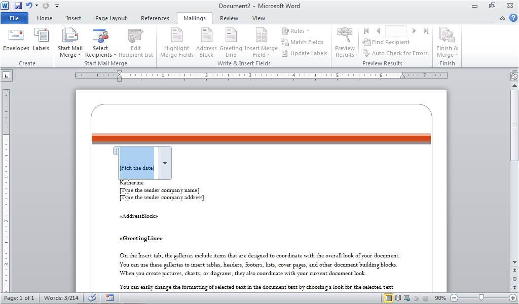 10 things you should know about word 2010s mail merge tools