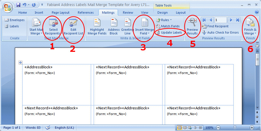 1040051 making target stickers for students using spreadsheet data and mail merge