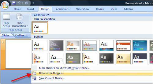 how to create a presentation template in powerpoint