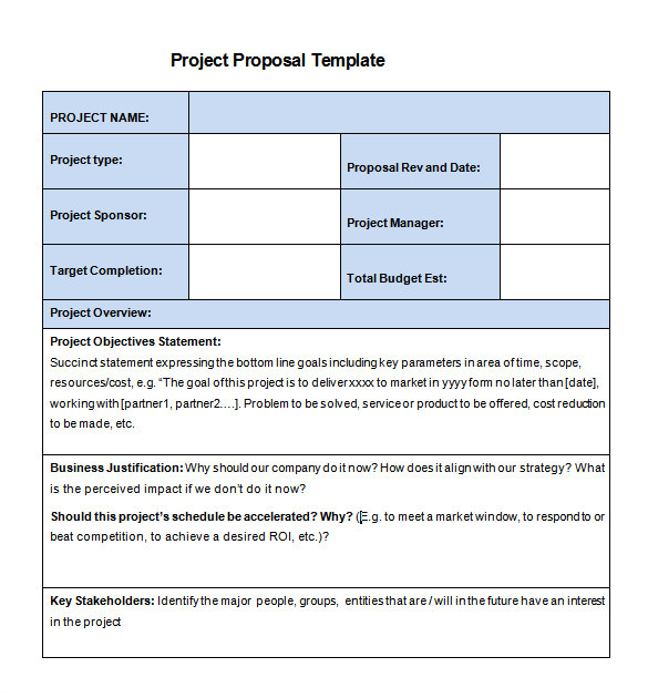 project proposal template 2