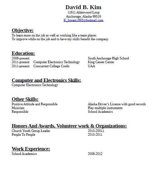 How to Create A Resume with No Work Experience Sample How to Make A Resume for Job with No Experience Sample