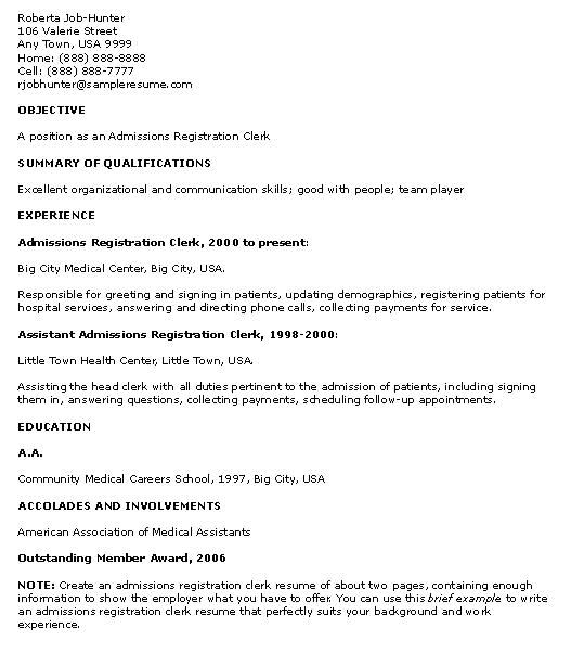 resume examples for high school students with no experience