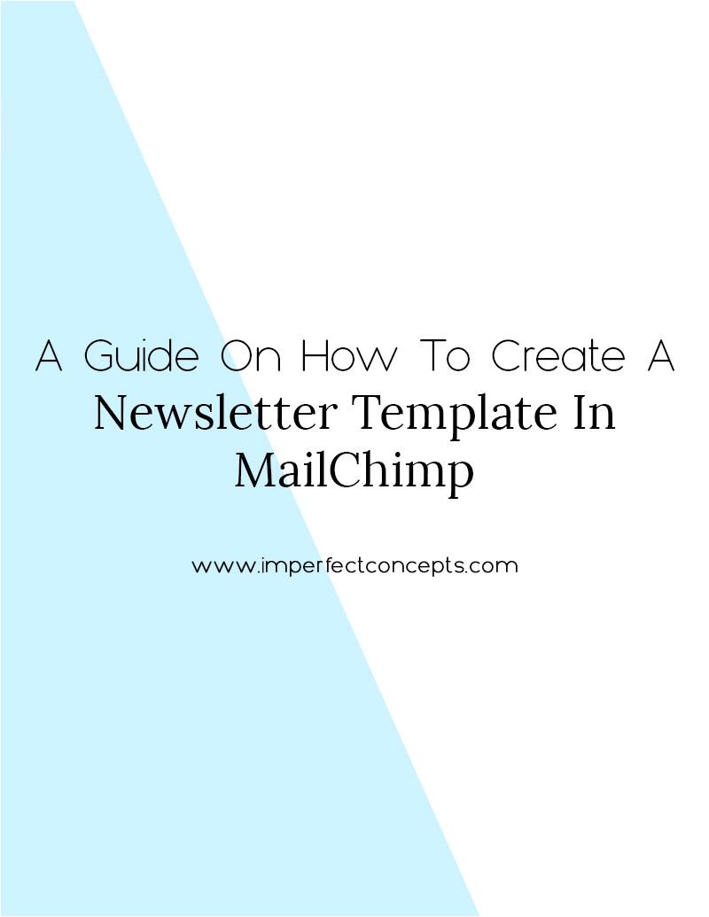 create template mailchimp