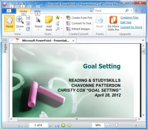 How to Create A Template On Powerpoint How to Create Powerpoint Handouts In Pdf with Free Nitro