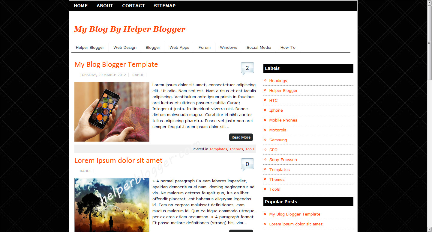 blogger templates professional full version free software download