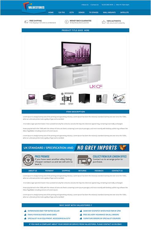 ebay listing template portfolio