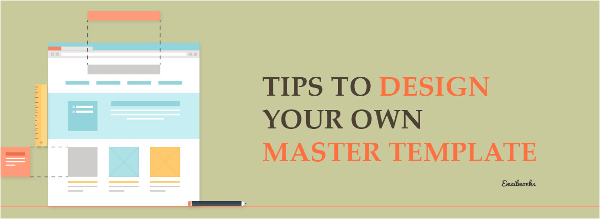design your own master template