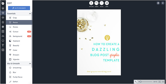 How to Create Your Own Blog Template Tutorial How to Create A Dazzling Blog Post Graphic