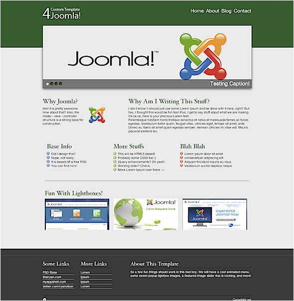 how to build a joomla template start to finish net 15511
