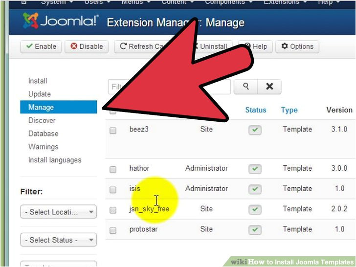How to Design Joomla Template How to Install Joomla Template Image Collections
