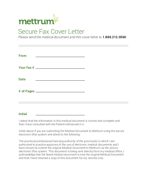 fax cover letter examples