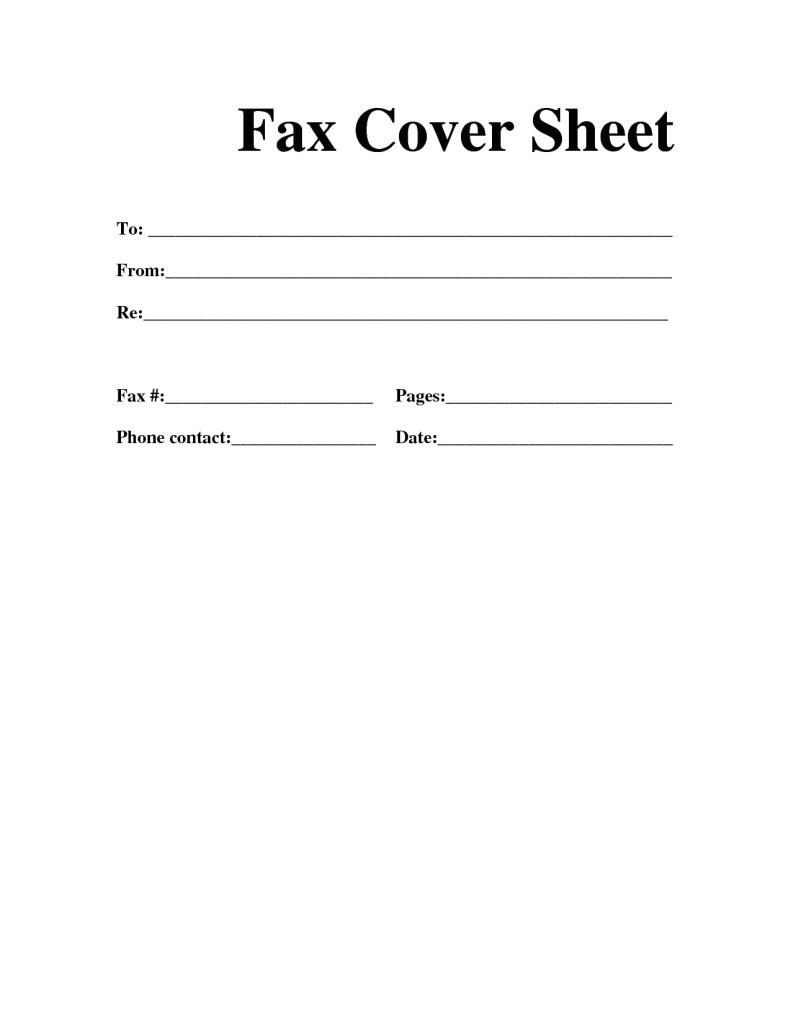 How to Do A Fax Cover Letter Free Fax Cover Sheet Template Download Printable