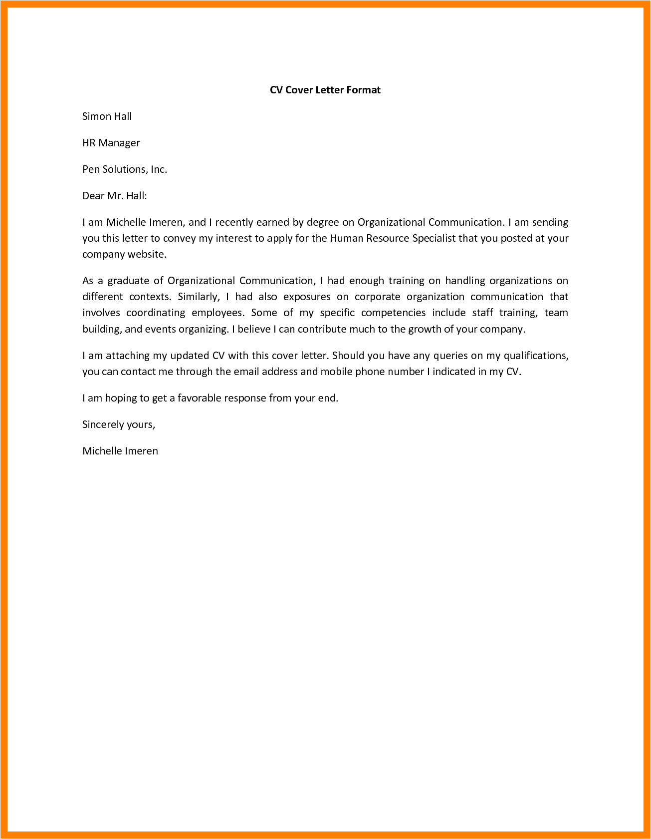 How to Do A Proper Cover Letter How Does A Cover Letter Look Good Resume format