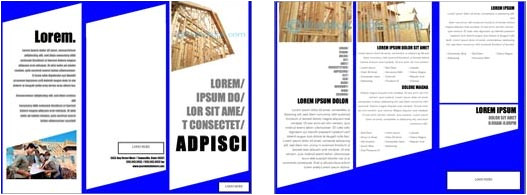 microsoft brochure templates