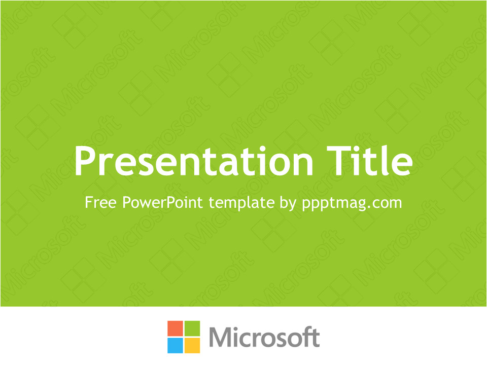 How to Download Powerpoint Templates From Microsoft Free Microsoft Powerpoint Template Pptmag