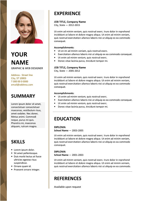dalston resume template