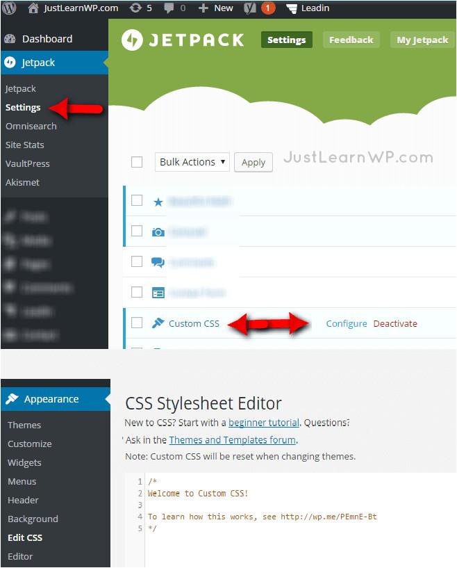 How to Edit WordPress Templates WordPress Custom Css Using Chrome Developer tools