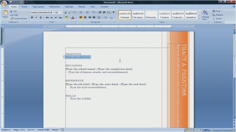 How to Find Resume Template On Microsoft Word 2007 Resume Templates Microsoft Word 2007 How to Find