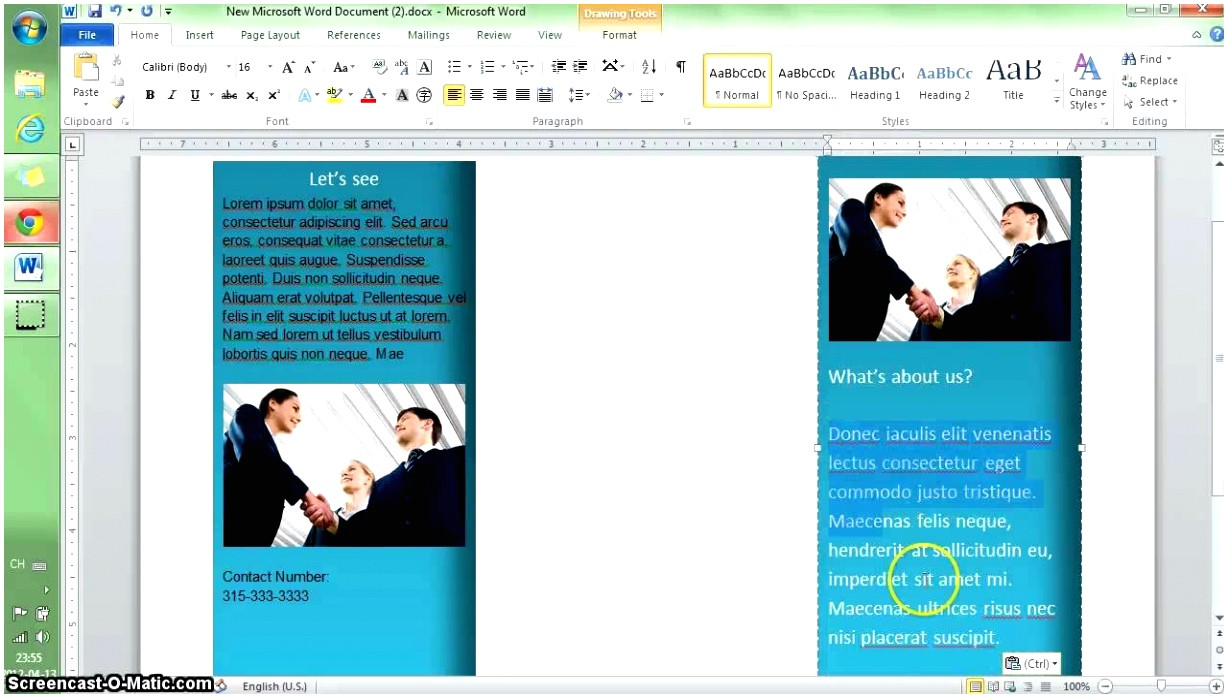 How to Get A Brochure Template On Microsoft Word 2010 12 How to Get A Brochure Template On Microsoft Word Eiaop