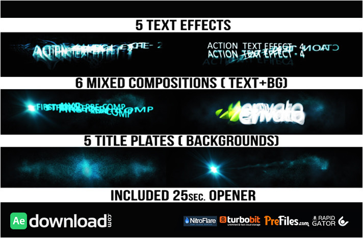 action titles videohive template free download