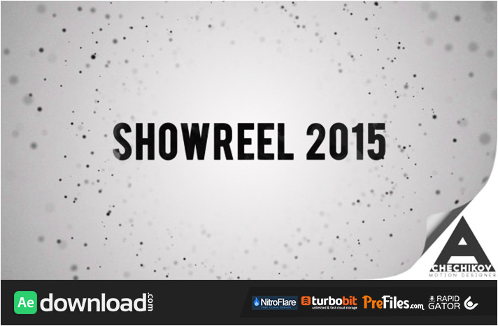 showreel broadcast package videohive template free download