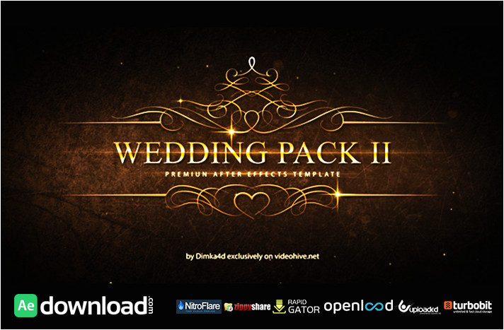 wedding pack ii free download videohive template