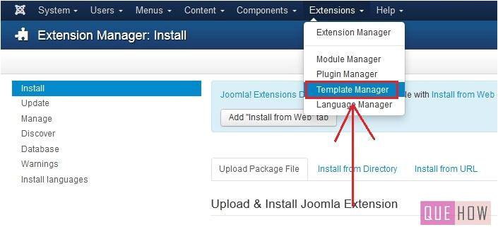 How to Install A Template In Joomla How to Install A New Template In Joomla 3 X 7 Steps with