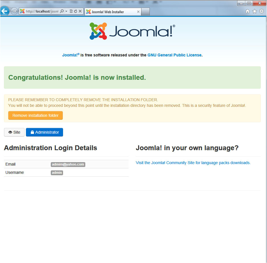 how to install template to joomla 25