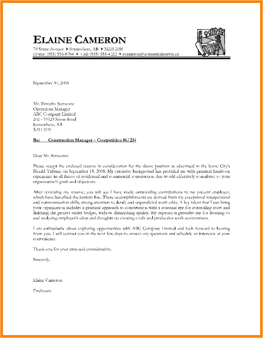 8 cover letter introduction