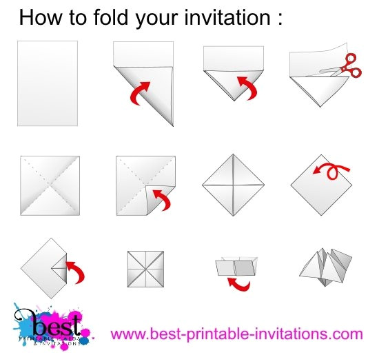 origami chatterbox instructions