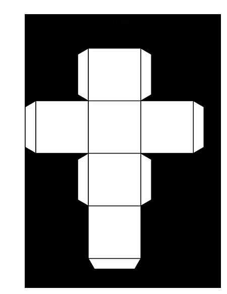 How to Make A Cube Template On This Page is A Printable Cube Template for Kids Print