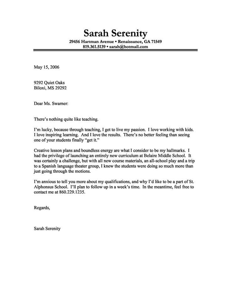 How to Make A Good Cover Letter for A Job Example Of Good Job Cover Letter Granitestateartsmarket Com