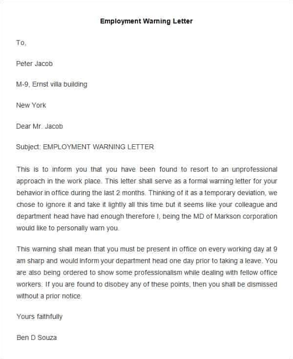 quick cover letter