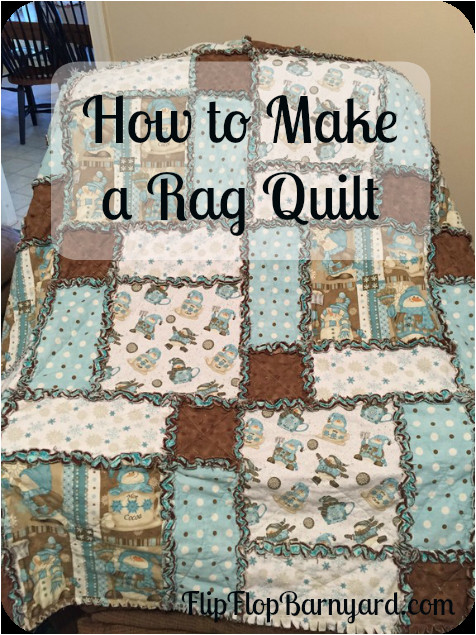 How to Make A Quilt Template How to Make A Rag Quilt A Simple Diy Sewing Project the